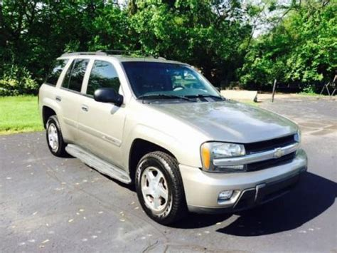 2003 chevy trailblazer lt purchase used 2003 chevrolet trailblazer lt in 3750 n