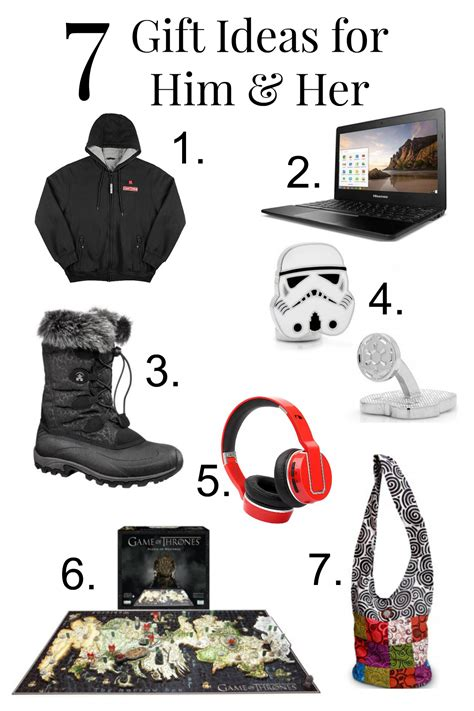 7 gift ideas for him her outnumbered 3 to 1