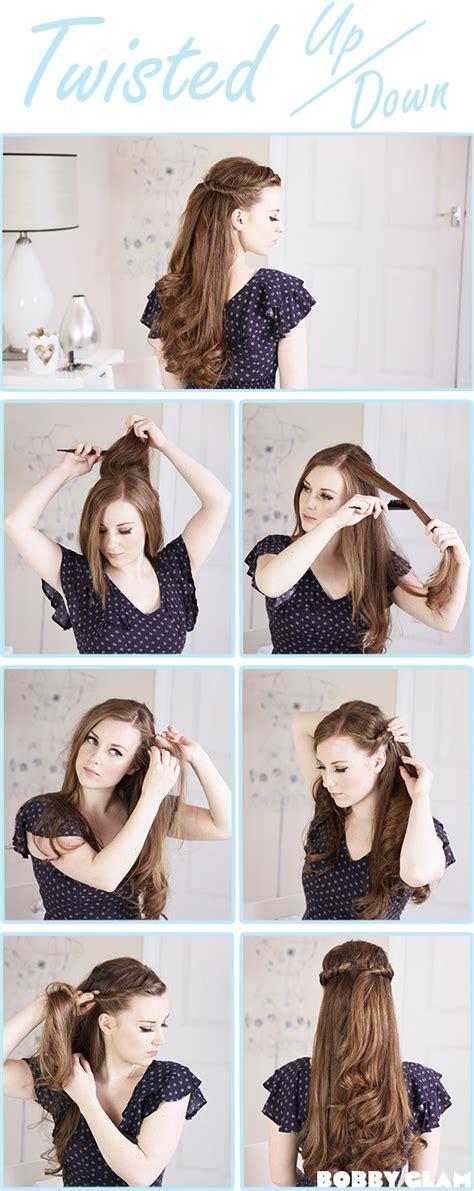 girl hairstyles tutorial 13 half up half down hair tutorials