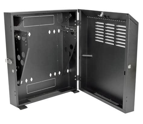 smartrack 6u wall mount rack enclosure smartrack low profile wall mount rack vertical