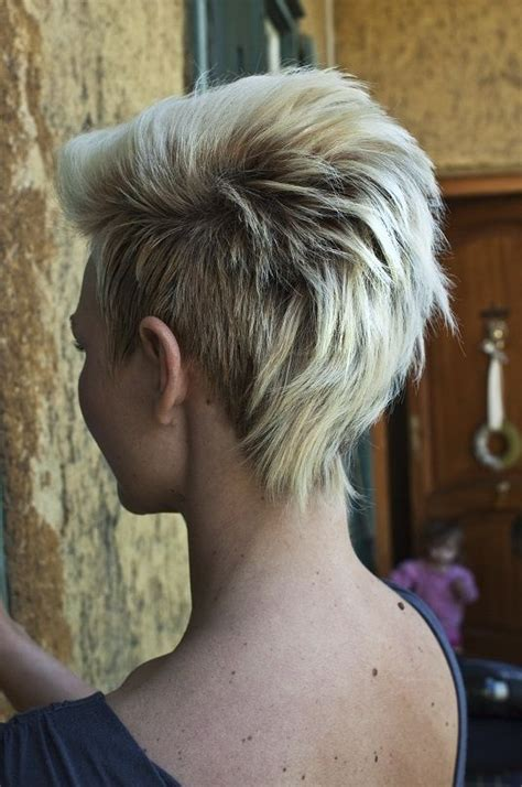 blonde pixie mohawks 15 fantastic mohawk hairstyles pretty designs