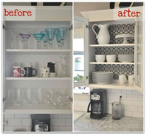 kitchen wall cabinets without doors kitchen cabinet wallpapered and no doors for open look
