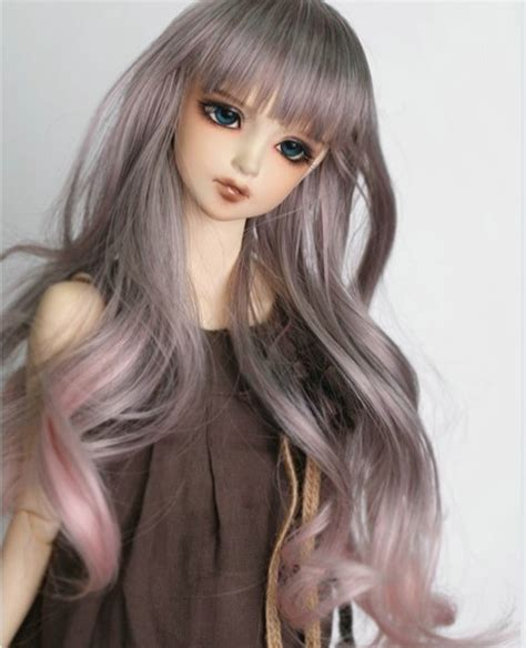 1 3 1 4 1 6 Bjd Wig Heat Resistant Curly free shipping newest 1 3 1 4 1 6 bjd wig high temperature wire bjd wig msd sd yosd for bjd
