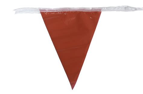 Jobsite Protection Traffic Control & Safety Pennant Flags