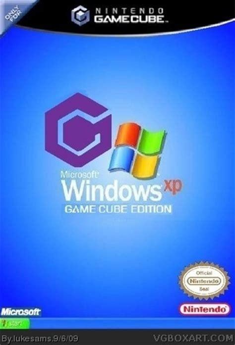 windows xp gamecube edition gamecube box art cover by lukesams