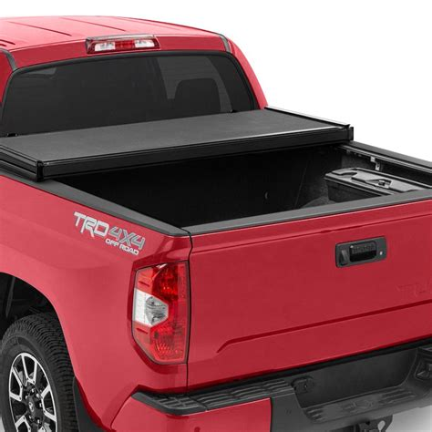 rugged cover folding tonneau cover rugged liner 174 toyota tundra 2012 premium folding tonneau cover