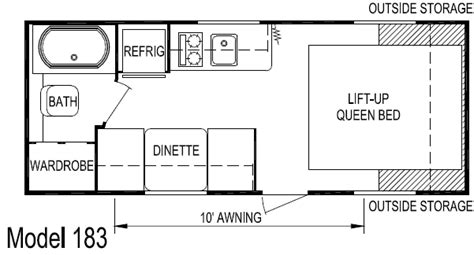 Layton Rv Floor Plans | layton retro travel trailer model 183