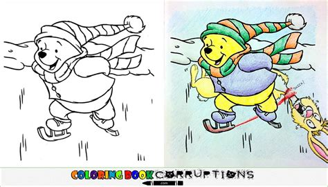 coloring book corruptions http coloringbookcorruptions skating coloring book corruptions
