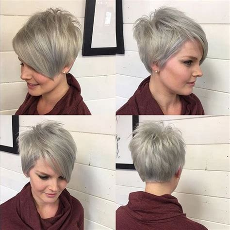 A Line Cuts Pixie | adorable pixie haircut ideas with bangs popular haircuts