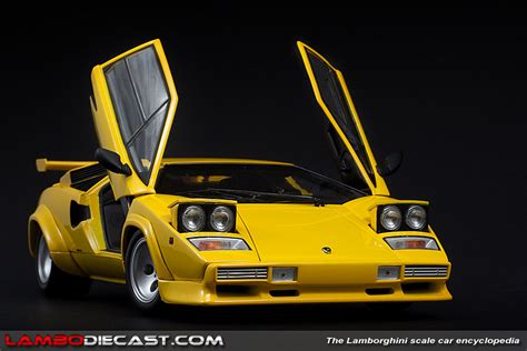 yellow lamborghini countach lamborghini countach lp500 s in yellow by kyosho