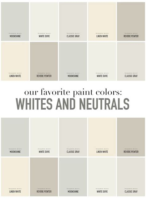 summerhouse designers favorite white and neutral paint colors www alwayssummerblog