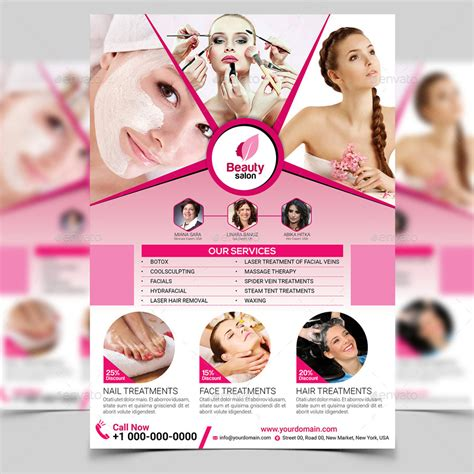 Beauty Salon Flyer Template Flyers Templ With Flyer Templates Archives Yourweek Cb3cbaeca25e Salon Flyer Templates Free