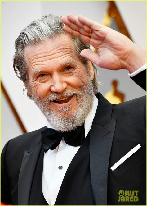 jeff bridges nominees jeff bridges michael shannon walk oscars red