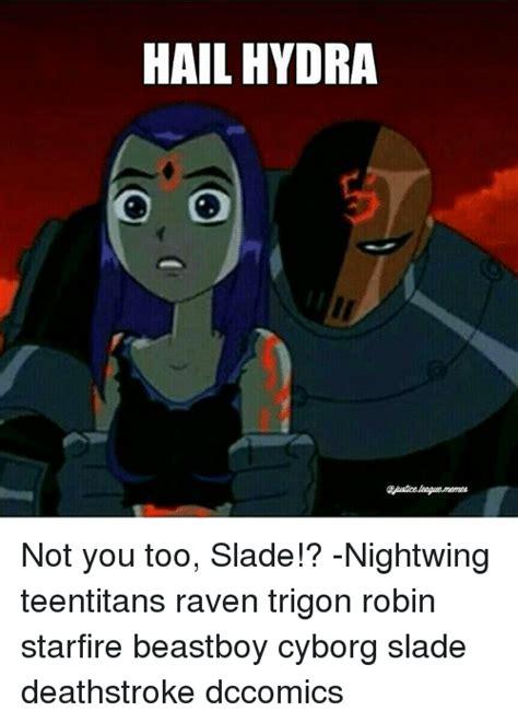 Raven Meme - teen titans slade memes www pixshark com images