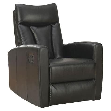 modern recliners derek black recliner eurway modern