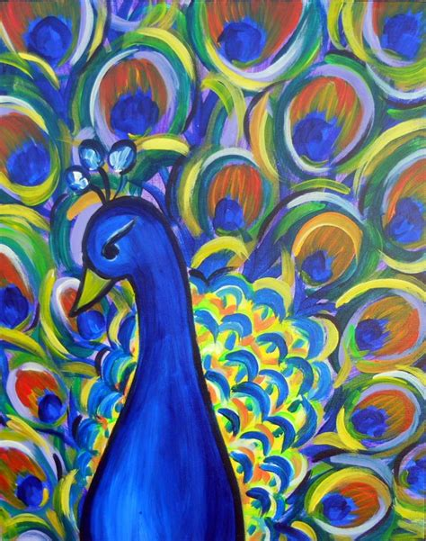 paint with a twist tulsa 17 best ideas about peacock canvas on peacock