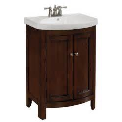 Allen Roth Bathroom Vanity Allen Roth 69187 Moravia Integral Bathroom Vanity With Vitreous China Top 24 In X 18 In