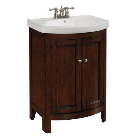 allen roth moravia integral bathroom vanity  vitreous china top      lowes canada