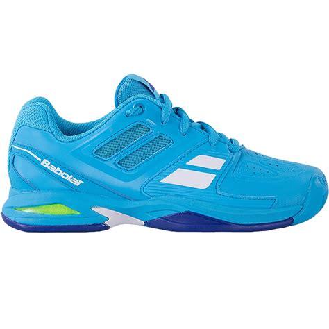 babolat propulse team junior tennis shoe blue