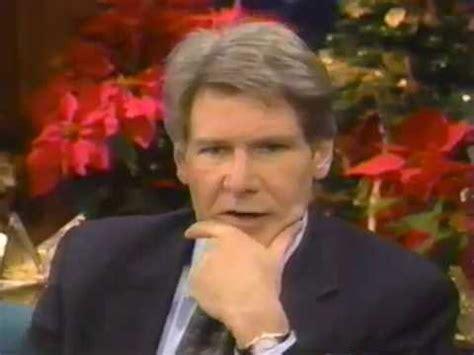 Harrison Ford Tonight Show Tonight Show Leno Harrison Ford Sabrina 1995