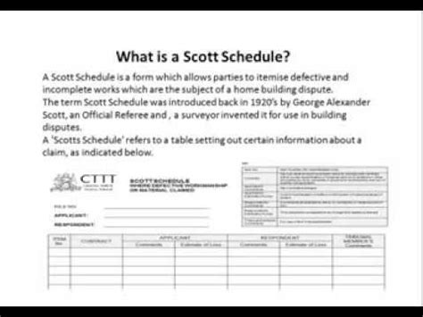 cttt ncat building expert witness report amp scott schedule