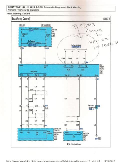 sonata subwoofer diagram 24 wiring diagram images