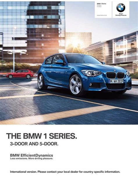 bmw  series brochure prospekt english edition