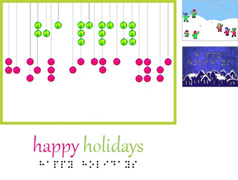 new year ideas for singles inbraille greeting cards the chicago lighthouse