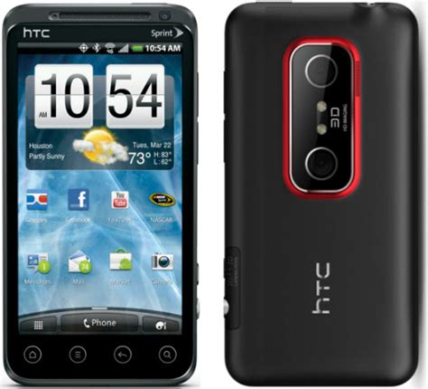 htc android phones htc evo 3d android cell phone