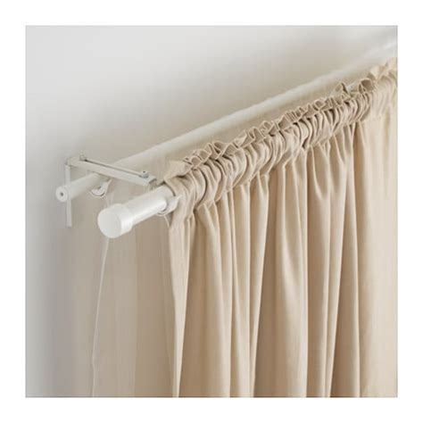 how to layer curtains on one rod r 196 cka hugad gardinenstangenkomb doppelt ikea