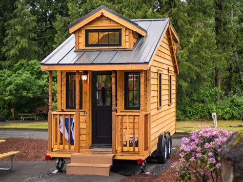 Tumblewood Tiny Homes by Tiny Houses At Mt Hood Village Oregon