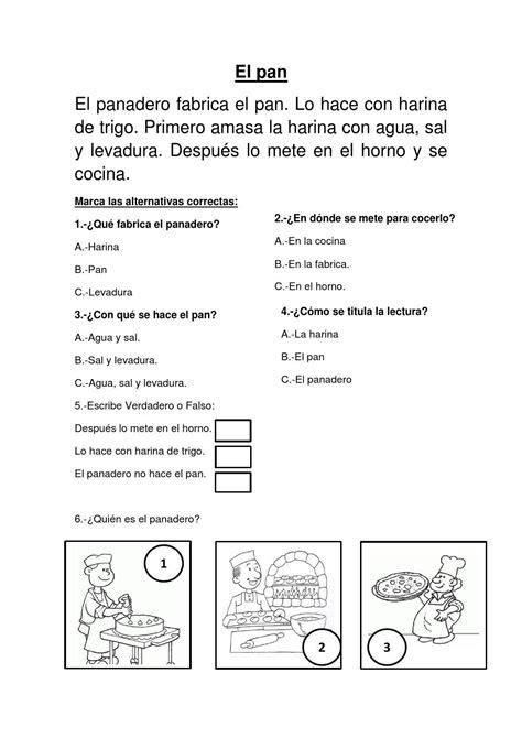 morfologia del cuento basica 8476000200 el pan comprension lectora para el segundo grado de