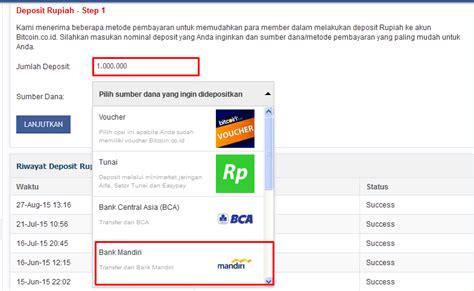 Bitcoin Rupiah | deposit rupiah di bitcoin co id terbaru republik coin