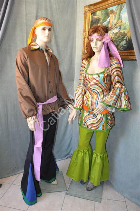 figli dei fiori abbigliamento carnevale vestito figlio dei fiori uomo 1960