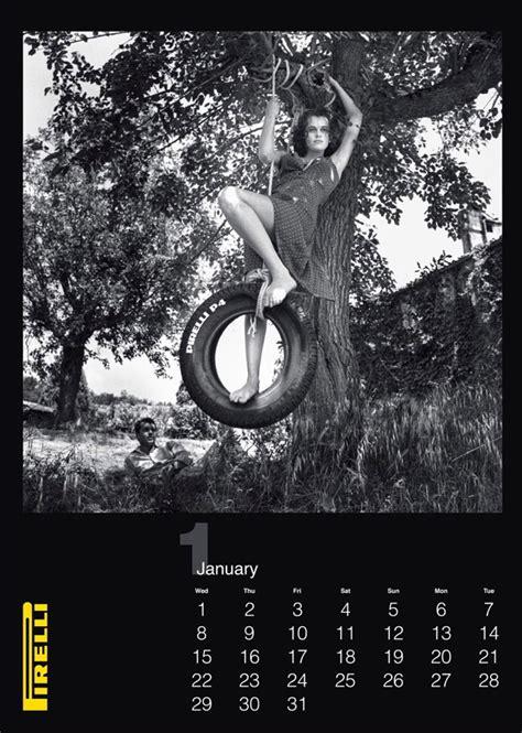 Pirelli Calendar Pirelli S 2014 Calendar By Helmut Newton Pursuitist