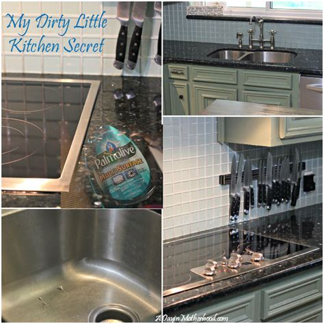 a dirty little secret makes this kitchen a show stopper my dirty little kitchen secret is solved with one product