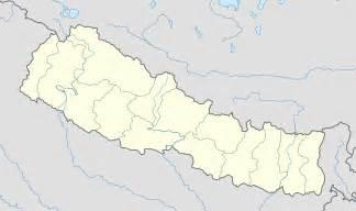 Nepal Location Map by Original File Svg File Nominally 1 200 215 714 Pixels