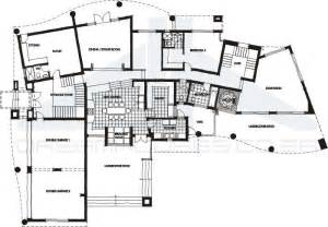 modern house with floor plan contemporary house plans