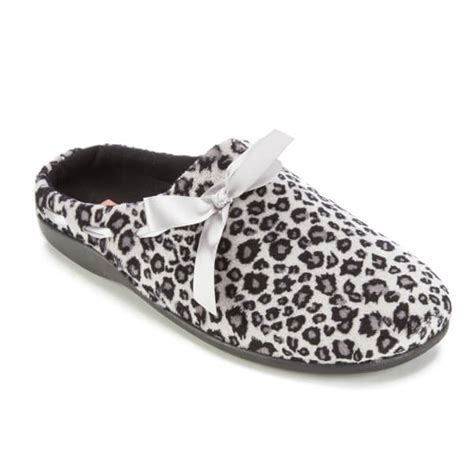snow leopard slippers dunlop s leopard print slippers snow leopard