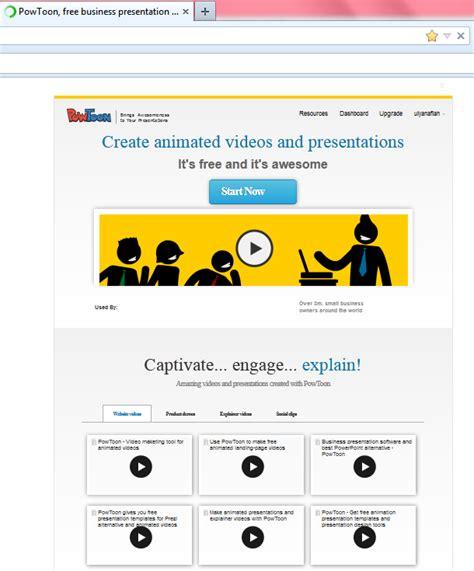 membuat video presentasi online tutorial membuat presentasi online menggunakan powtoon
