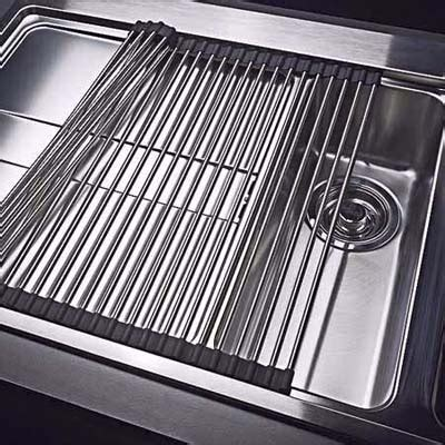stainless steel sink mat multipurpose sink mat low cost kitchen bath upgrades