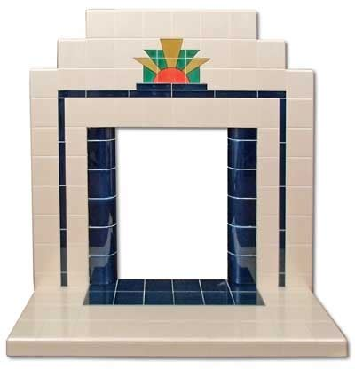 Deco Tiled Fireplaces by Best 25 Deco Fireplace Ideas On Deco