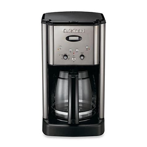 cuisinart coffee maker bed bath and beyond cuisinart 174 brew central 12 cup programmable coffee maker