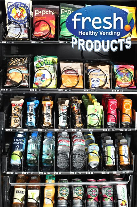 healthy food vending machine franchise progressive products now offered in northeast ohio by
