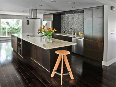 modern kitchen flooring flooring dark hardwood floors modern kitchen how to