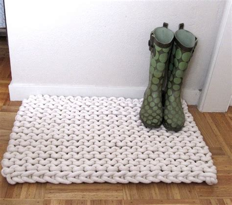 Diy Knit Rug by 9 Diy Rope Rug Projects To Try Rope Rug Macrame And Crochet
