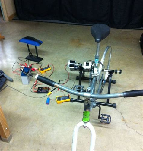 make a bicycle powered generator in 9 steps treehugger