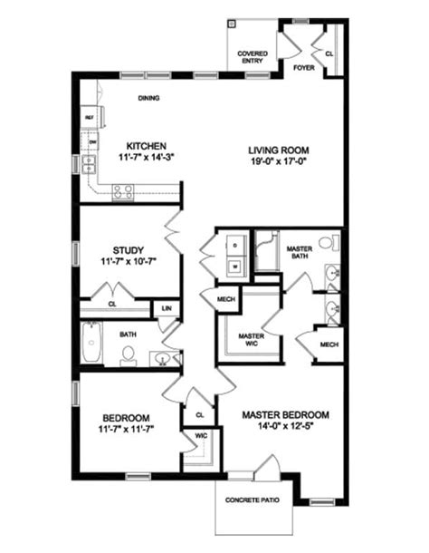 cottage home floor plans diakon twining village cottage floor plans