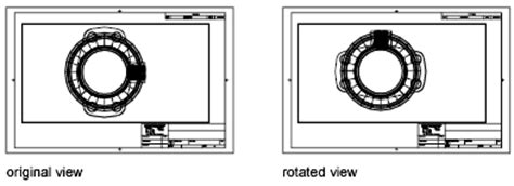 rotate layout view autocad rotate views in layout viewports