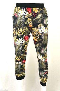 Rose Pattern Joggers | the bandana squares sweatpants in black sweatpants